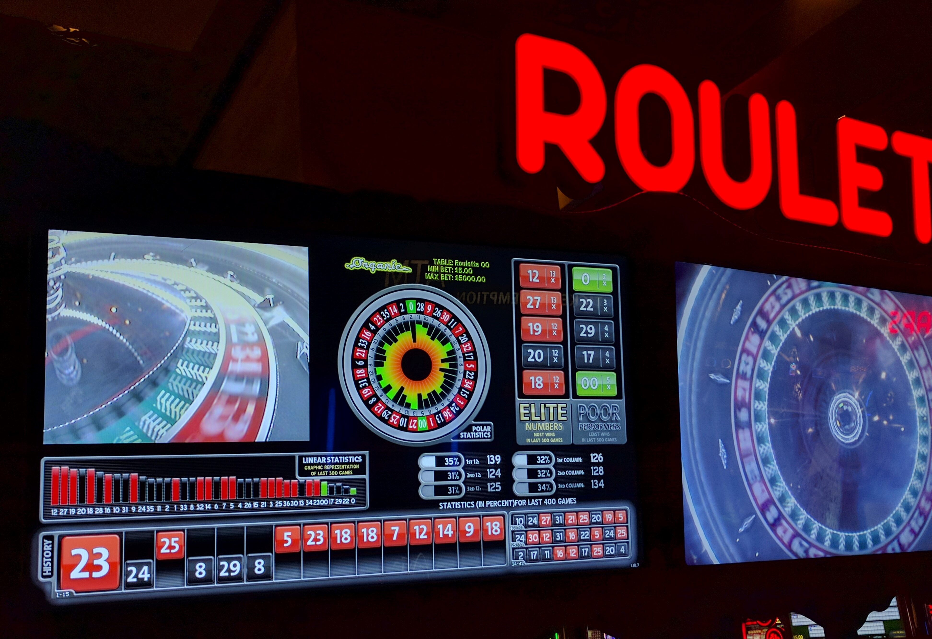roulette spins