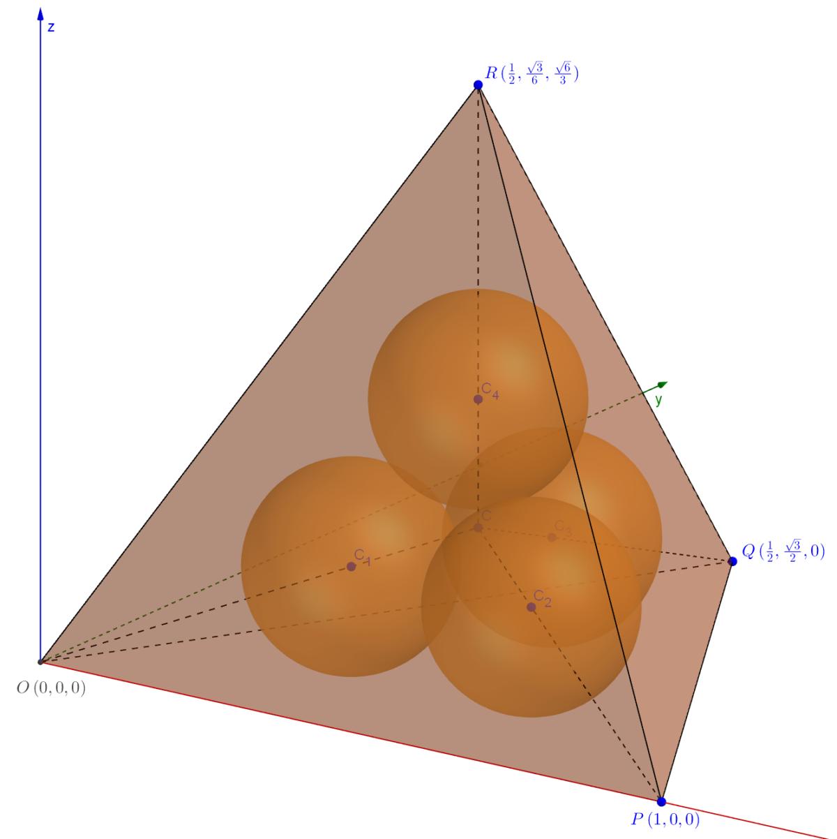 A tetrahedron puzzle